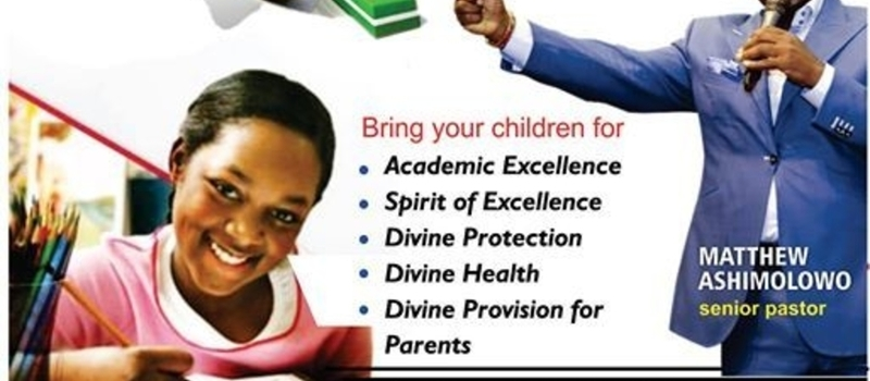 Back To School Dominion Prayer and Anointing Service
