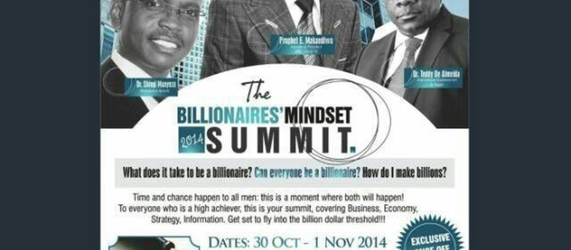 The Billionaires' Mindset Summit 2014