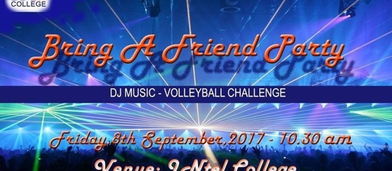 Bring a friend Party