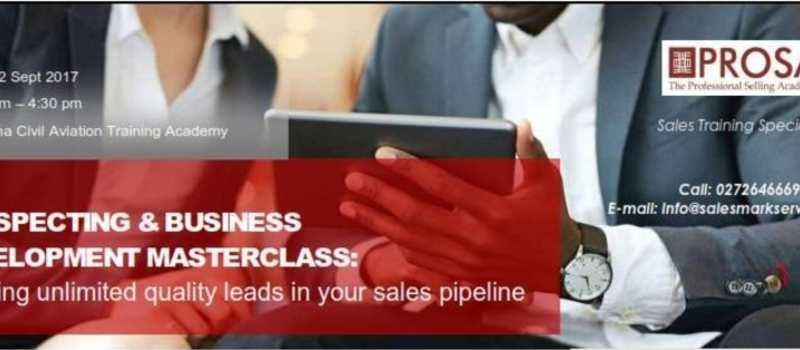 Prospecting & Business Development Masterclass