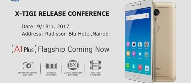 X-Tigi Flagship A1Plus Release Conference 2017