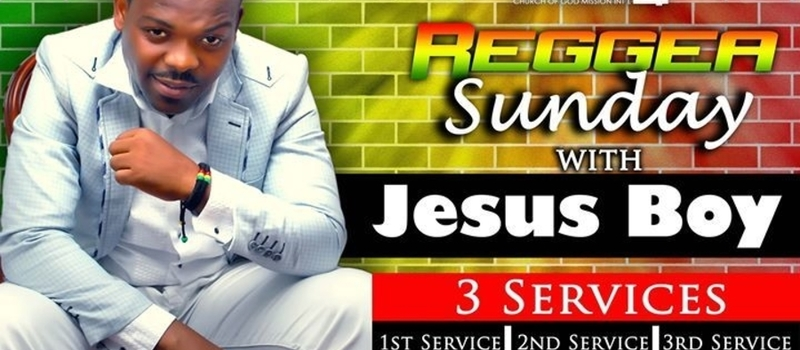 GOSPEL REGGAE SONGS FLASH, A  LIVE CONCERT WITH  JESUS BOY @202 Aba rd opp mobil filing station