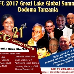 GFC 2017 Great Lake Summit On the 21st-Century Church,Tanzania