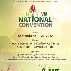 2017 GHANA National Convention