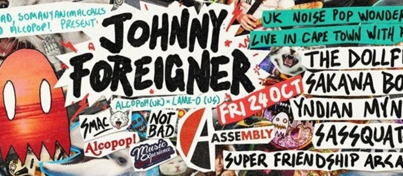 Johnny Foreigner (UK) live in Cape Town