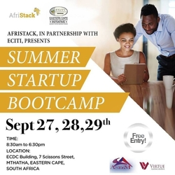AfriStack South Africa Summer Startup Bootcamp