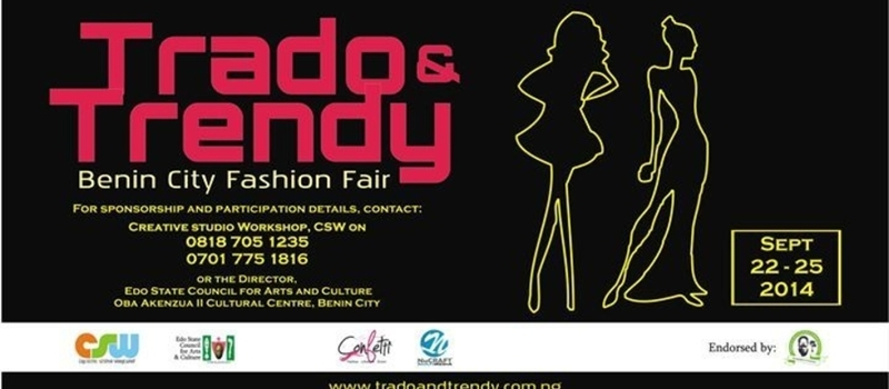 Trado'n'Trendy: Benin City Fashion Fair 2014
