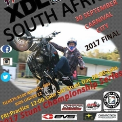 2017 XDL South Africa Sport Bike Freestyle Stunt Riding Championship Final