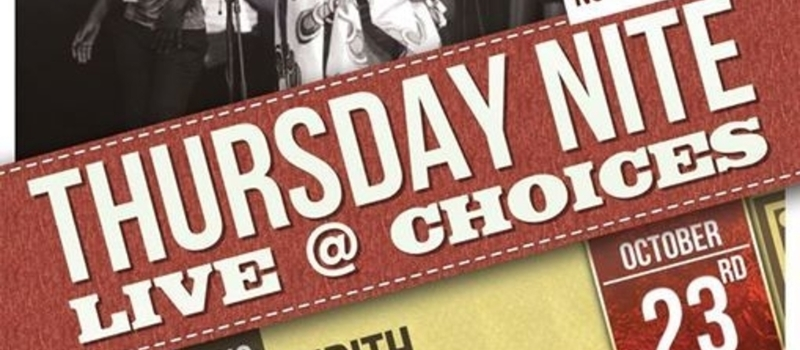 Roots Intl presents Thursday Nite Live @ Choices featuring Judith Bwire