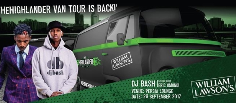 The Highlander Van Tour with DJ Bash & Eric Omondi