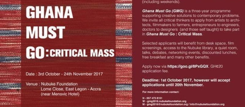 Ghana Must Go: Critical Mass