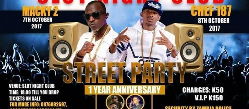 STREET PARTY 1 YEAR ANNIVERSARY