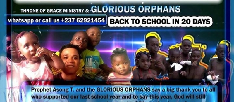 SUPPORT OUR ORPHANS RETURN TO SCHOOL