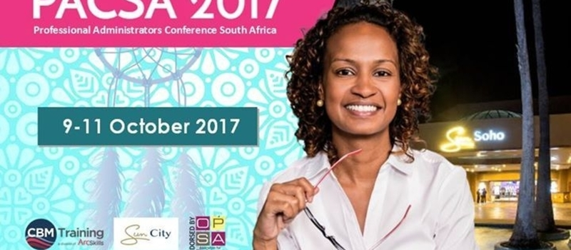 Professional Administrators Conference South Africa 2017