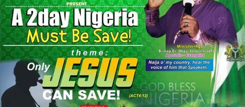 Naija Must Be Saved