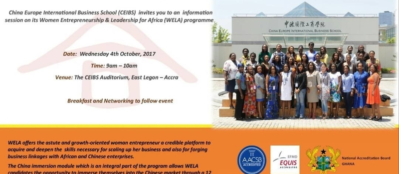 Women,Entrepreneurship and Leadership  for Africa(WELA)
