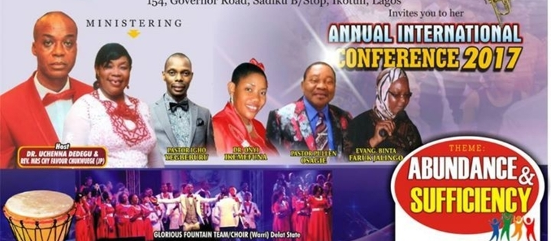 His Glory Chapel Int'l Church  Conference 2017