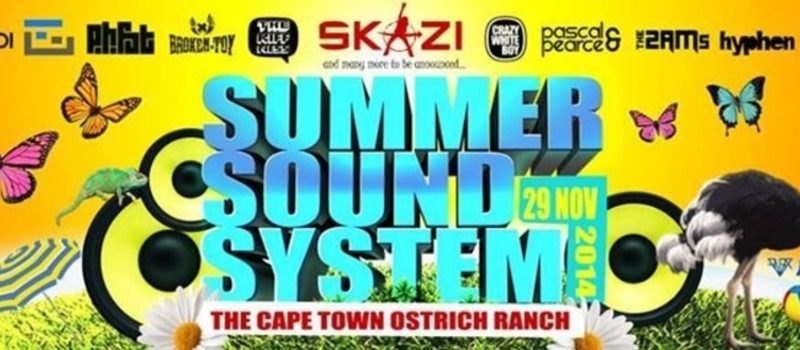 Summer Sound System ft Skazi (Live) - 1 Day Out door experience