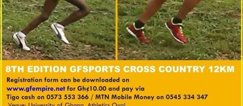 8th Edition Gfsports Cross Country 12km