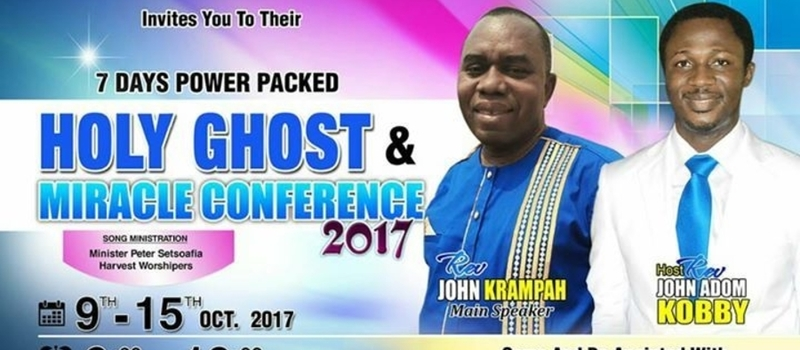 Holy Ghost and Miracle Conference