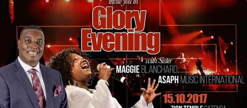 Concert Glory Evening With Maggy Blanchard And Asaph Music International