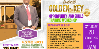 GOLDEN KEY OPPORTUNITY SKILLS & TRAINING WORKSHOP