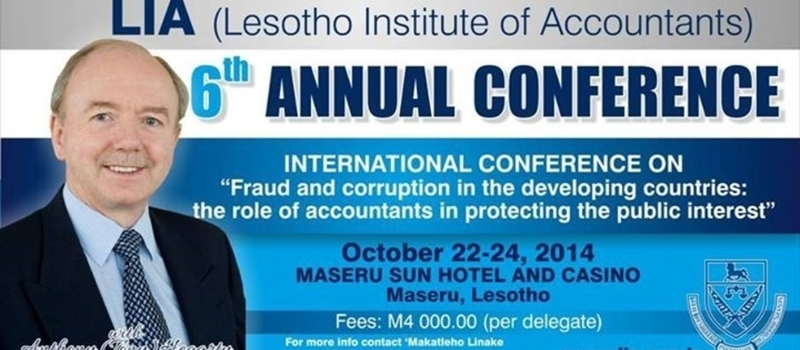 LESOTHO INSTITUTE OF ACCOUNTANTS ANNUAL CONFERENCE