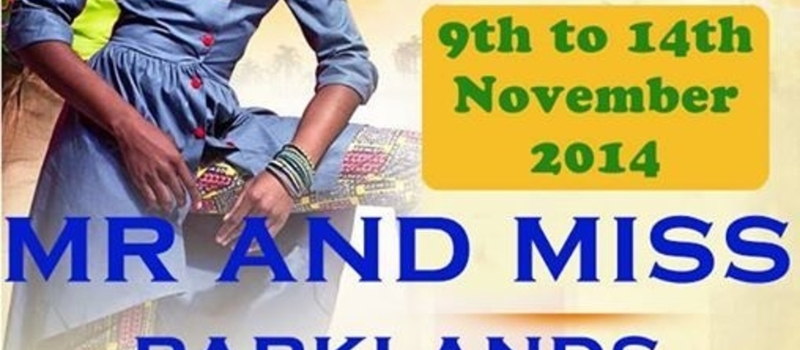UON PARKLANDS CULTURAL WEEK 2014: MR AND MISS PARKLANDS