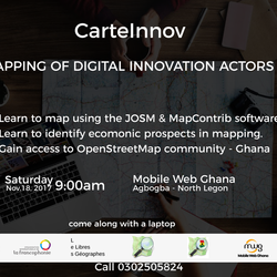 FREE MAPPING OF DIGITAL INNOVATION ACTORS MEETUP