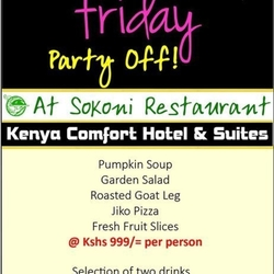 Black Friday Party Off - Sokoni Restaurant