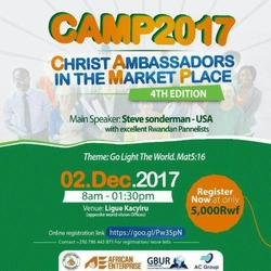 Christ Ambassadors in the Market Place 2017 Summit