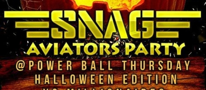 THE SNAG AVIATORS PARTY HALLOWEEN EDITION