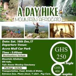 Day hike to Afadzato (Volta Region)