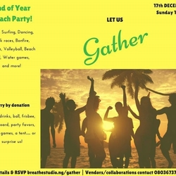 Gather At Breathe - End of Year Beach Party