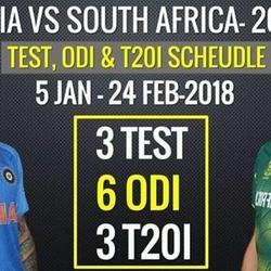 INDIA V/S SOUTH AFRICA