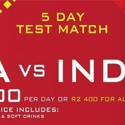 South Africa v India Test Match