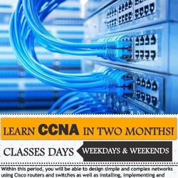CCNA V3 Training(2 months). Morning, Afternoon and Evening Sessions Available.