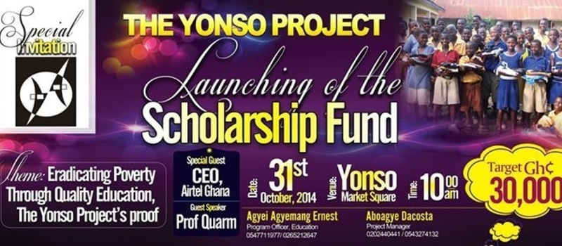 Launching of The Yonso Project Scholarship Fund