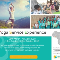 Yoga Service Experience with Move The World