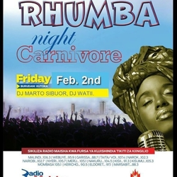 Rhumba Night! (Every 1st Friday of The Month)