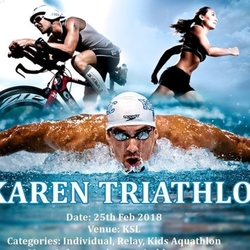 Karen Triathlon And Kids Aquathlon