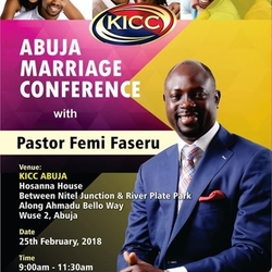 Abuja Marriage Conference with Pastor Femi Faseru
