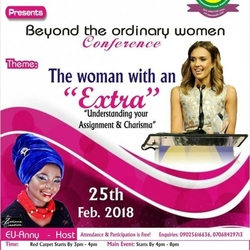 DDZ, 1st Annual Beyond The Ordinary Women's Conference....