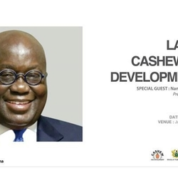 Launch of Cashew 10 year Development Plan