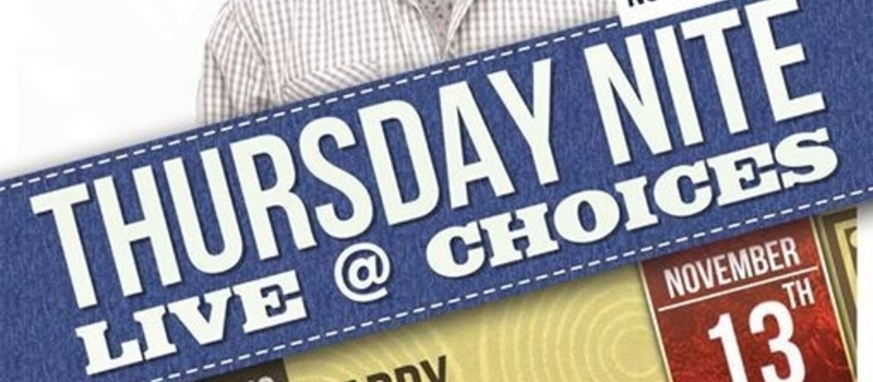 Roots Intl presents Thursday Nite LIve @ Choices featuring Harry Kimani