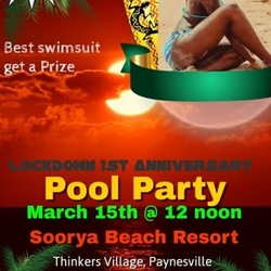 LockDown Pool Party
