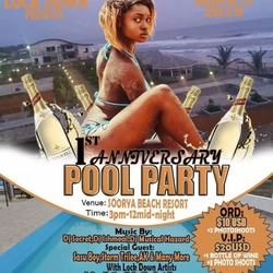 LockDown 1st Anniversary Pool Party