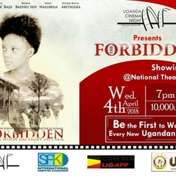 Showing The Forbidden Movie by Uganda Cinema Night.