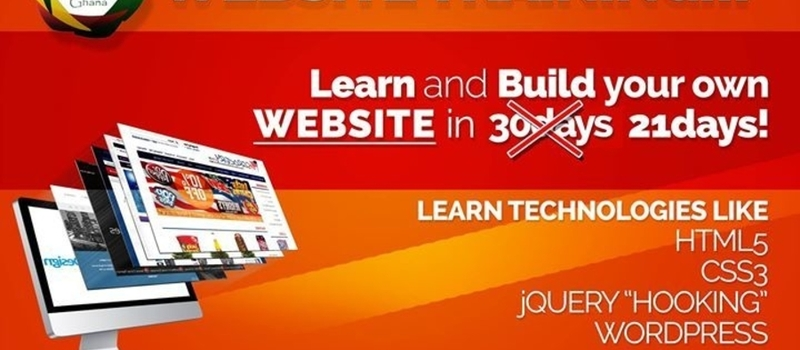 3 Weeks Certified Website Development Course