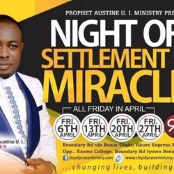 NIGHT OF SETTLEMENT AND MIRACLES